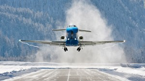 Alpine airports: Ski resorts you can fly into