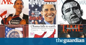 Terrorist, Superman, feminist, messiah: Barack Obama's life as a cover star