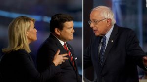 Fox News' viewer-in-chief complains about the network's Bernie Sanders town hall